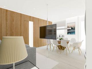 Mario Catani - Arquitetura e Decoração SalonMeubles télévision & multimédia Bois Gris