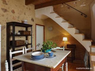 custom casa home staging Mediterrane Küchen