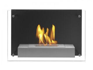 Clearfire - Lareiras Etanol غرفة المعيشةديكورات مدفأة الحطب Black