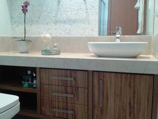 Atelier Plural Modern Bathroom Marble Multicolored