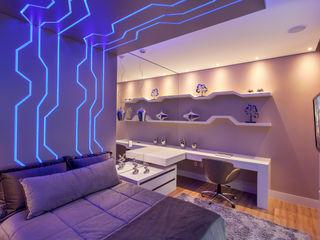 Designer de Interiores e Paisagista Iara Kílaris Modern Kid's Room Blue