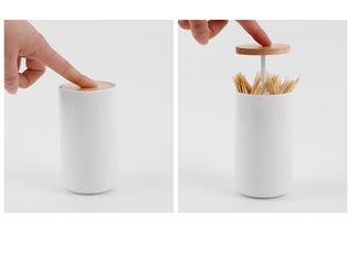 mochi Paisajismo de interiores Plástico Blanco