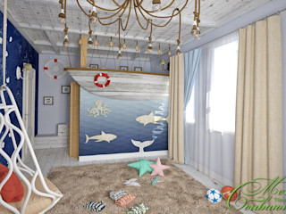 Компания архитекторов Латышевых 'Мечты сбываются' Quartos de criança modernos