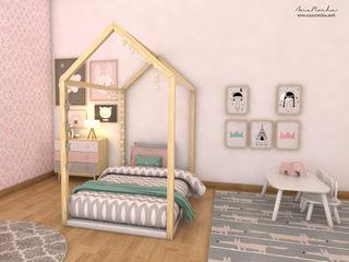 homify Nursery/kid's room Wood Black