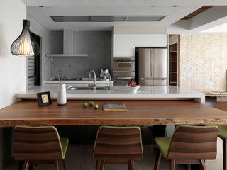 賀澤室內設計 HOZO_interior_design Modern kitchen