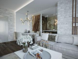 Студия дизайна Натали Хованской Living room White