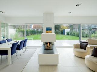 Ferreira | Verfürth Architekten 现代客厅設計點子、靈感 & 圖片