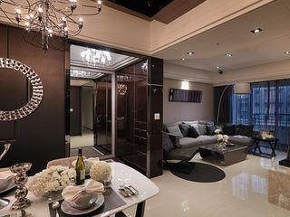 大集國際室內裝修設計工程有限公司 Klasyczny salon