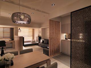 大集國際室內裝修設計工程有限公司 Skandynawski salon
