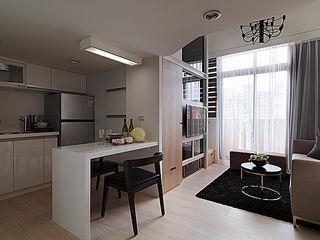 大集國際室內裝修設計工程有限公司 Nowoczesna jadalnia