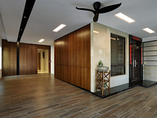 信美室內裝修 Casas modernas Madera Acabado en madera