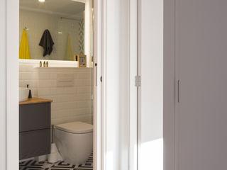 slvr estudio Modern bathroom