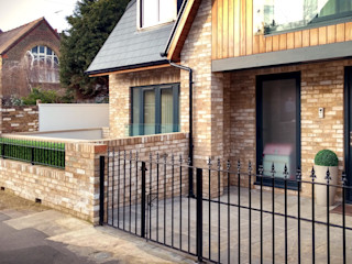 New House in Rockland Road, Putney, SW15 2LN 4D Studio Architects and Interior Designers Modern houses Bricks