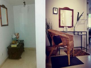 SH Interiorismo Modern Corridor, Hallway and Staircase