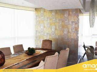 Amarillo Interiorismo Murs & SolsDécorations murales Ambre/Or