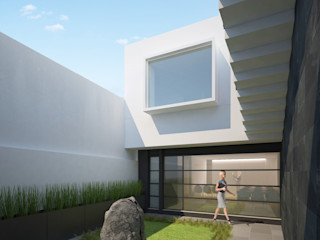DAR Arquitectos Minimalist clinics Slate Black