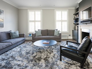 Disraeli Road, Putney Grand Design London Ltd Вітальня