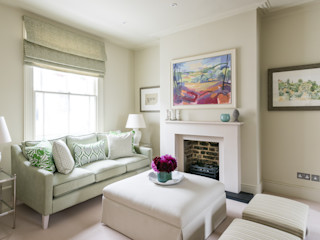 Hillgate Place, Notting Hill Grand Design London Ltd Вітальня