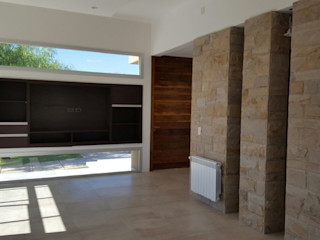 MABEL ABASOLO ARQUITECTURA Minimalist Oturma Odası