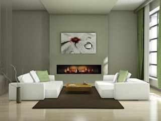 Einbaukamin E4500-OH de Luxe Gebr. Garvens GmbH & Co. KG Moderne Wohnzimmer