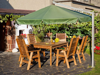 ONLYWOOD Garden Furniture Solid Wood