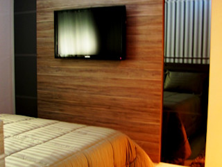 KOSH Arquitetura & Interiores Modern style bedroom