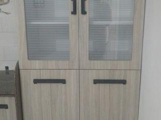 aashita modular kitchen KitchenCabinets & shelves Brown