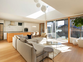 福田康紀建築計画 Scandinavian style living room
