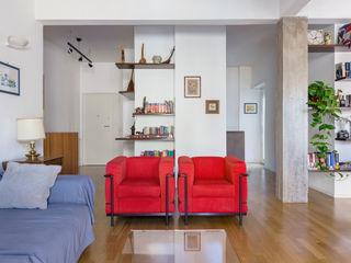 Casa F.G. Angelo Talia Soggiorno moderno