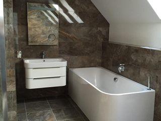 Plot 3, The Views, Gallaton, Aberdeenshire Roundhouse Architecture Ltd Modern style bathrooms