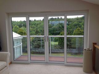 Riverside Drive, Stonehaven, Aberdeenshire Roundhouse Architecture Ltd Modern windows & doors