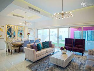 UV Arquitectos Modern living room