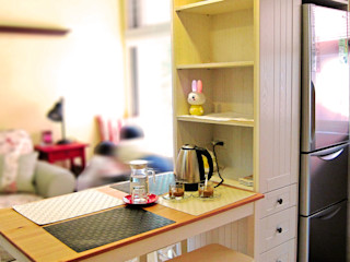 台中英式鄉村風度假宅 以恩室內裝修設計工程有限公司 餐廳 White