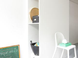 Peggy Franssen Interieurontwerp Study/officeStorage MDF Black