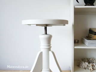 Maisondora Vintage Living Studeerkamer/kantoorStoelen Hout Wit