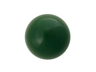 Ceramic handle -ROUND 3,5 cm - emerald green Viola Ceramics Studio KitchenCabinets & shelves Ceramic Green