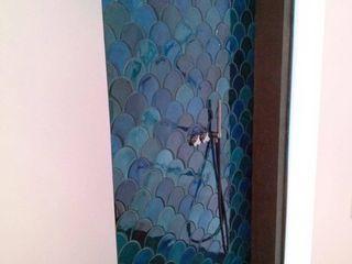 SCALE tile - ceramic tiles Viola Ceramics Studio KitchenAccessories & textiles Ceramic Turquoise