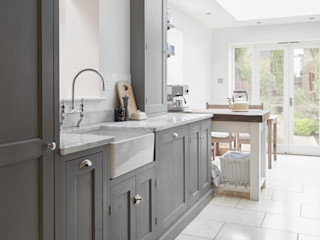 Twickenham Purdom's Bespoke Furniture CocinaArmarios y estanterías Madera Gris