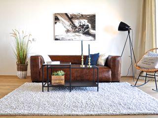 Karin Armbrust - Home Staging Living room Blue