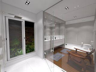 Jeffer Henrich Minimalist bathroom Ceramic White