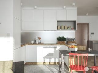 hexaform Endüstriyel Mutfak Beyaz