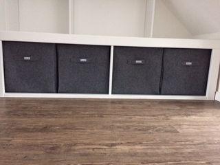 Individuelle Filzkörbe Stich-haltig Minimalistische Geschäftsräume & Stores Grau