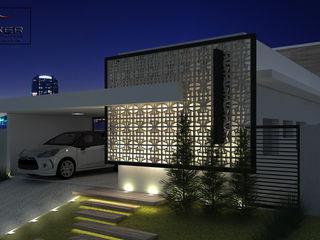 PACKER arquitetura e engenharia Maisons minimalistes