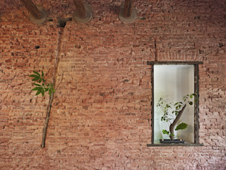 墐桐空間美學 Eclectic style walls & floors
