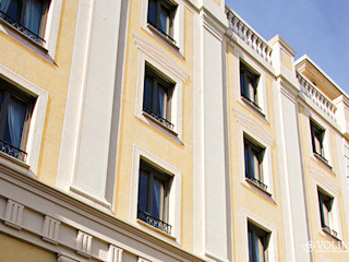 Fassadengestaltung als Putzfassade Volimea GmbH & Cie KG Klassische Häuser