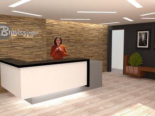 H2H arquitectos Oficinas y Tiendas Madera Acabado en madera