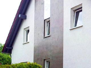 Fassadenputz bietet nahezu unbegrenzte Gestaltungsmöglichkeiten in Farbe, Struktur und Form Volimea GmbH & Cie KG Ausgefallene Häuser