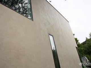 Außenfassade mit Lotuseffekt Volimea GmbH & Cie KG Moderne Häuser