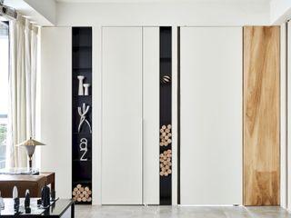 小.曲折 Anti-Sinuous 理絲室內設計有限公司 Ris Interior Design Co., Ltd. 窗戶