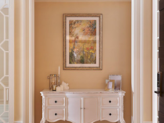 托斯卡尼.Giorno Tuscan Giorno 理絲室內設計有限公司 Ris Interior Design Co., Ltd. 乡村风格的走廊,走廊和楼梯 Beige